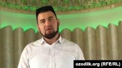 Имам-хатиб ташкентской мечети «Омина» Фазлиддин Парпиев.