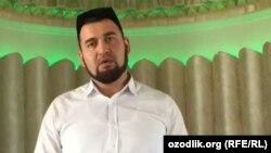 Фазлиддин Парпиев в бытность имамом мечети «Омина» в Ташкенте.