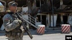 Američki vojnik na Kosovu, arhivska fotografija iz 2011. godine.