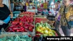 Рынок в Севастополе