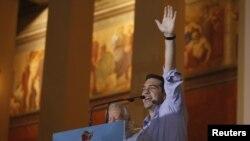 лидерот на Сириза Алексис Ципрас