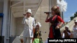 Ыр менен ачылган фестивал