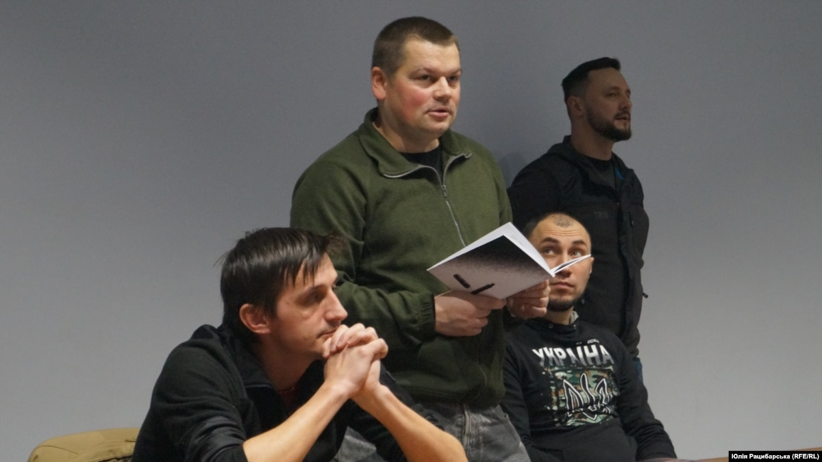 Участники боевых действий и писатели: Юрий Руденко, Мартин Брест, Владимир Коротя, Андрей Кириченко рассказали о войне