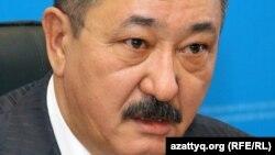 Председатель административного суда Уральска Галымжан Ищанов. Уральск, 17 ноября 2014 года.