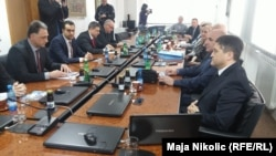 Susret delegacija u Tuzli