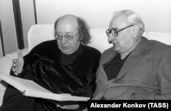 Геннадий Рождественский и Борис Покровский, 1980