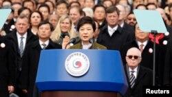 پارک گیون-هیه، رییس جمهوری کره جنوبی.