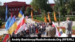 У Києві підтримали незалежність Білорусі