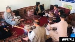 شماری از نوازندگان موسیقی در ولایت هرات
