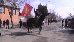 Ош: Текебаевты қолдау митингісі