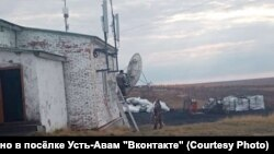 Поселок Усть-Авам на Таймыре