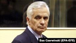 Momcilo Krajisnik at The Hague tribunal in March 2009