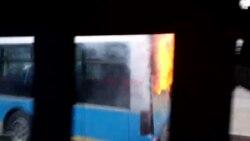 Автобустағы өрт
