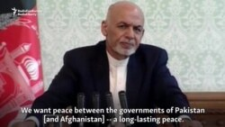 Afghan President Seeks 'Long-Lasting Peace' With Pakistan