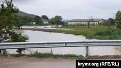 Река Катерлез в Крыму, 13 августа 2021 года