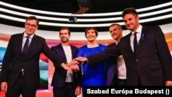 Az ellenzéki miniszterelnök-jelöltek még az előválasztás előtt. Jakab Péter és Fekete-Győr András számára véget ért a verseny.