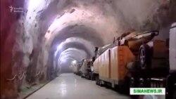 Iran tuneldəki raketləri nümayiş etdirib