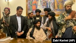 The appointments were reportedly made after Taliban fighters took control of the Afghan presidential palace in Kabul on August 15.