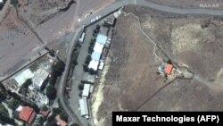 Imagine din satelit a presupusei instalații nucleare de la Sanjarian, la est de Teheran, 31 mai 2021