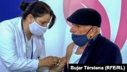 Илустрација - вакцинација во Косово.