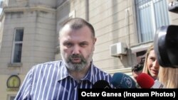 România - Omul de afaceri Horia Simu, la ieșirea de la audieri