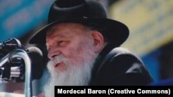 Rabbi Menachem Mendel Schneerson in 1987