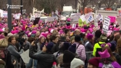 Massive Crowds Assemble For Global Marches Against Trump