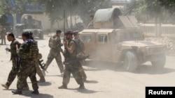 عملیات نیروهای افغان در کندز