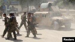 شماری از نیروهای امنیتی افغانستان