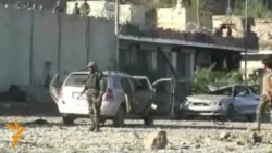 Aftermath Of Attack On Police Compound In Kandahar