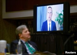 Марк Цукерберг бере участь у засіданні відеозв'язком