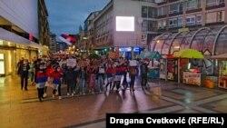 Građani su se okupili i u Nišu