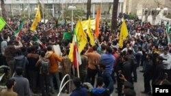 اعتراضات دانشجویان دانشگاه امیرکبیر