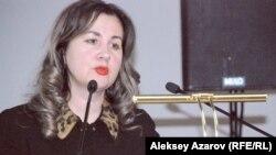 Философ Наталья Сейдахметова. Алматы, 24 ақпан 2015 жыл.
