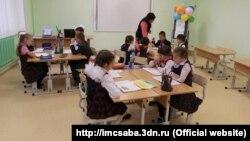 Сабада сәләтле балалар мәктәп-интернатында дәрес