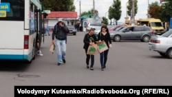Агітаційні торбинки на підтримку Олександра Дубінського