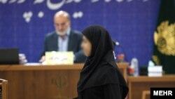 یکی از متهمان زن پرونده فساد مالی سه هزار میلیارد تومانی- سوم اردیبهشت ۱۳۹۱
