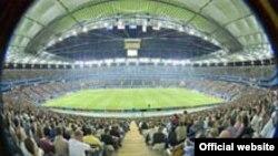 В ЮАР и России тоже появятся первоклассные стадионы, такие, как этот красавец во Франкфурте