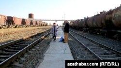 Железная дорога в Туркменистане. Иллюстративное фото.