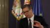 Predsednik Srbije Aleksandar Vučić izjavio je 22. aprila na onlajn događaju u organizaciji Atlantskog saveta da mora doći do promene atmosfere u Beogradu i Prištini kako bi se postigao napredak u pregovorima.