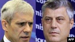 Борис Тадиќ и Хашим Тачи