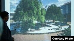 """""""Айчүрөк"""" дүкөнүнүн жанындагы фонтандар реконструкцияланууда"""
