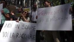 A doua zi de proteste împotriva votului mixt