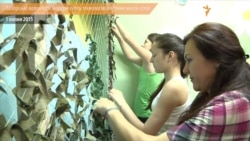 Волонтери винайшли нову технологію плетіння маскувальних сіток для АТО