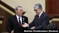 Нурсултан Назарбаев и Касым-Жомарт Токаев