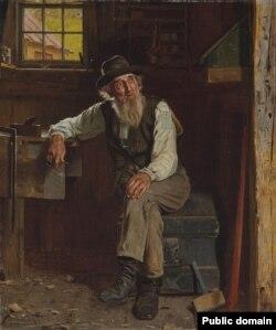 Джон Джордж Браўн, «Жывучы мінулым» (1897)