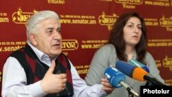 Ռուբեն Պողոսյան և Աննա Ոսկանյան