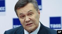 Архива: Поранешниот украински претседател Виктор Јанукович.