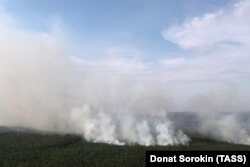 Лесные пожары в Красноярском крае. Август 2019 года