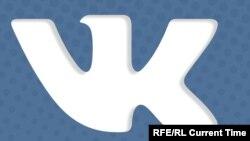 """""""Вконтакте"""" әлеуметтік желісінің белгісі."""